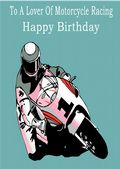 Motorcycle Racing-Birthday 1
